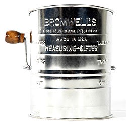 Jacob Bromwell All-American 3-cup 2-wire Crank Sifter