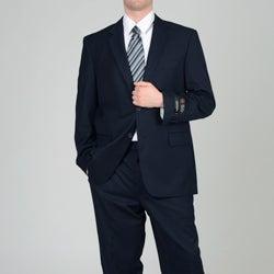 Adolfo Men's Navy 2-button Suit