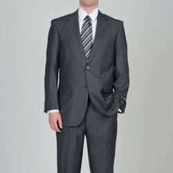Circola Moda Men's Grey 2-button Suit