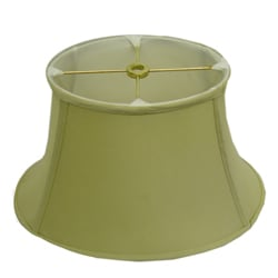 Squat Round Beige Lamp Shade