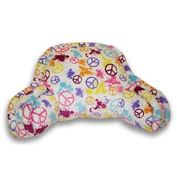 Splatter Peace Sign Boyfriend Bedrest Cushion