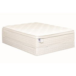 Heaven-Sleep Plush Pillowtop Full-size Mattress Set
