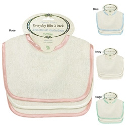 Bumkins Organic Everyday Bibs (Pack of 3)