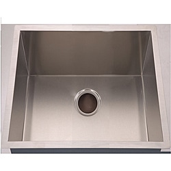 Handmade Undermount Stainless Steel Single-bowl Sink