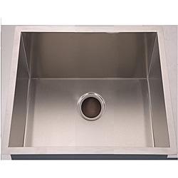 Handmade Undermount Stainless Steel Single-bowl Sink