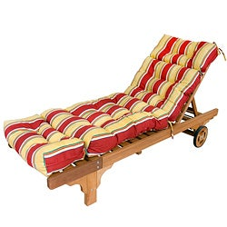 Outdoor Mayan Stripe Chaise Lounge Chair Cushion