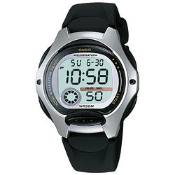 Casio Women's Black Digital Casual Sports Watch