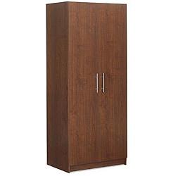 Akadahome Multipurpose 72-inch Walnut Storage Cabinet