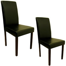 Warehouse of Tiffany Black Dining Room Chairs (Set of 4)