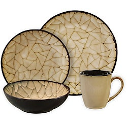 Gibson Zambezi 16-pc Round Dinnerware Set