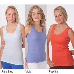 Yogacara Women's Assorted Ribbed Tank Tops (Pack of 2)