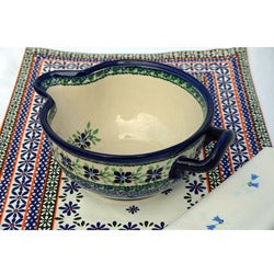 Polish Stoneware 5-cup Batter Bowl (Poland)