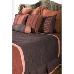 Rizzy Home Endeavor Queen-size 9-piece Duvet Cover Set with Insert