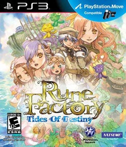 PS3 - Rune Factory: Tides of Destiny - By Natsume