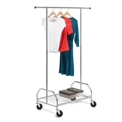 Honey Can Do GAR-01506 Rolling Garment Rack