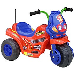 Lil' Rider Lux 3 Tricycle Red/ Blue Battery Operated Ride-on