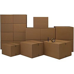Cardboard 2-3 Room Moving Kit