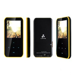 Latte iPearl S Yellow 4GB 1.8-inch LCD MP4 Player