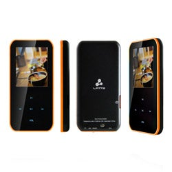 Latte iPearl S Orange 4-GB 1.8-inch LCD MP4 Player