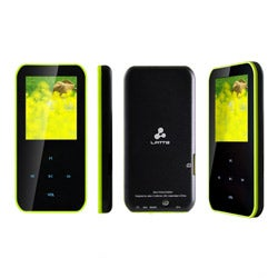 Latte iPearl S Green 4GB 1.8-inch LCD MP4 Player