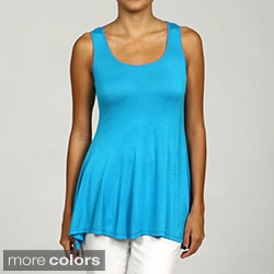 24/7 Comfort Apparel Women&#39;s Sleeveless Tunic Tank