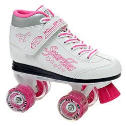 Sparkle Girl's Lighted Wheel Roller Skates