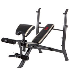Impex Marcy Mid-size Workout Bench with Arm Curl Pad