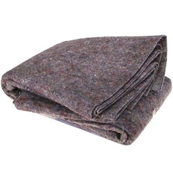 Soft Nylon Felt 72' x 80' Textile Moving Blankets (Pack of Three)