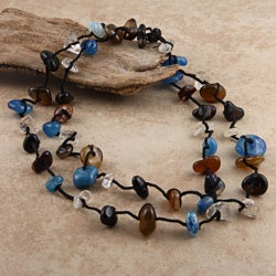 The Agate Chips Necklace (Necklace)