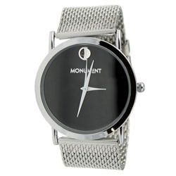 Monument Men&#39;s Mesh Analog Watch