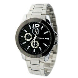 Monument Men's Black Dial Analog Watch