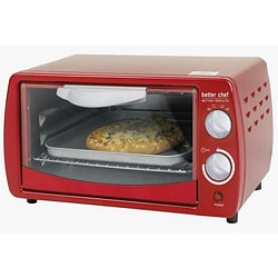 Better Chef IM268R Classic Red 9-liter Toaster Oven - 13734771 ...