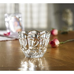 Fifth Avenue Crystal Sweetheart Bowl/ Votive Holder