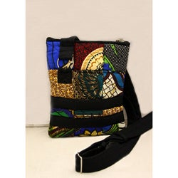 Cotton Original Patchwork Passport Bag (Kenya)