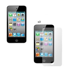 Apple iPod Touch 4 Clear Screen Protector (Pack of 3)