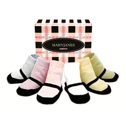 Trumpette Mary Jane Infant Sock Box Set