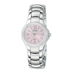 Citizen Women's Eco-Drive 'Silhouette Sport' Pink Dial Watch