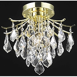 Crystal Gold 3-light 64962 Collection Chandelier