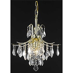 Crystal Gold 6-light 64948 Collection Chandelier