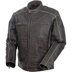 Mossi Men's 'Nomad' Premium Leather Jacket