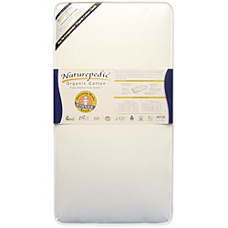 Naturepedic No-Compromise Organic Cotton Classic Crib Mattress