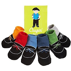 Trumpette Cruizin Johnny Baby Socks (Pack of 6)