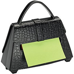 3M Post-It Black Purse Pop Up Notes Dispenser