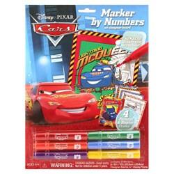 Giddy Up Cars Marker by Number Poster Set