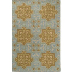 Hand-tufted Raymond Wool Rug (8' x 10')