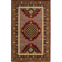 Hand-tufted Francis Wool Rug (5' x 7'9)