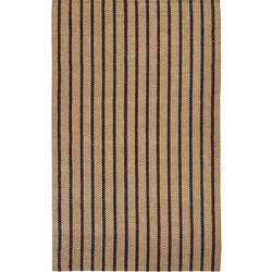Country Living Hand-Woven Flynt Striped Natural Fiber Jute Rug (3'6 x 5'6)