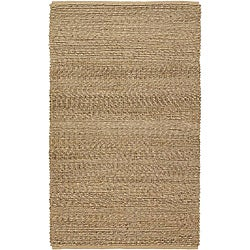 Country Living Hand-Woven Willow Natural Fiber Jute Rug (8' x 10'6)