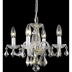 Crystal 62234 4-light Gold Chandelier
