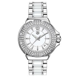 TAG Heuer Women's 'Formula 1' Ceramic Diamond Watch
